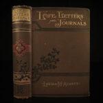 1889 1ed Louisa May Alcott Life Letters & Journals Little Women Feminism Cheney