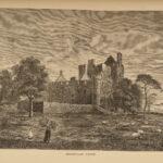1880 SCOTLAND Old & New Edinburgh Abbeys Giles St Cuthberts Illustrated 3v SET