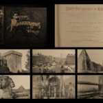 1891 BEAUTIFUL Photographs of the World Castles Gardens Ships Landscapes Shepp