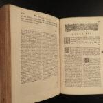 1670 Julius Caesar Wars Bello Gaul Africa MAP Elzevier Scaliger Montanus Latin