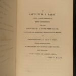 1824 1ed Arctic Exploration Private Journal of Lyon Parry Eskimos Newstead Abbey