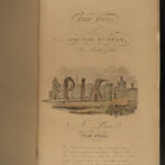1855 EXQUISITE Tour Doctor Syntax Combe Illustrated FINE BINDING Rowlandson ART