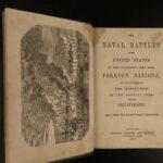 1859 USA Naval Battles US NAVY Ships Revolutionary WAR USS Constitution PIRATES