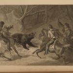 1874 1st ed EXQUISITE Picturesque America Illustrated Scenery Landscapes 2v SET