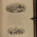 1872 EXQUISITE Robert Burns Cotter's Saturday Night Scottish Poetry Scotland