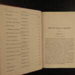 1892 Jules Verne From the Earth to the Moon Space Gun Club Illustrated 2v SET