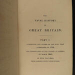1822 1st ed Naval History of Britain War of 1812 British NAVY Ships Cpt Brenton