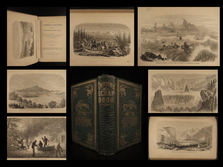 Image of 1869 1ed California American Pacific West GOLD Mining San Francisco Archaeology