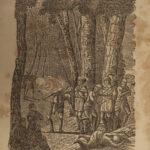 1856 Life of Daniel BOONE White Man INDIANS Frontier Missouri Kentucky Flint
