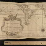 1749 Voyages in CHINA Jesuits Gaubil Atlas MAPS Rare Peking Illustrated Prevost