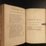 1783 Works of Henry Fielding English Theatre Plays Tom Jones Illustrated 12v SET