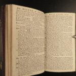 1785 1ed Rider's British Merlin Astrology Almanac Weather AMERICA John Hancock