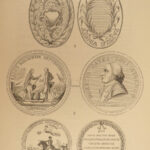 1861 1ed Coins Medals & Seals Numismatics Ancient Egypt ROME Money Illustrated