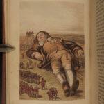 1875 Gulliver's Travels Jonathan Swift English Literature Pindar Illustrated