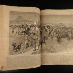 1878 1ed Harper's Weekly Native American INDIANS Illustrated George Washington