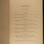 1885 1ed Civil War Memoirs of Union General Ulysses S. Grant Illustrated MAPS 2v