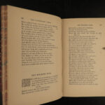 1880 Geoffrey CHAUCER Poems Canterbury Tales Assembly of Foules Aldine Poets 6v