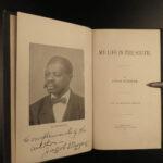 1898 SIGNED My Life South SLAVE Jacob Stroyer Civil War Sullivan Island Carolina