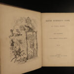 1840 1ed Charles Dickens Master Humphrey's Clock First Book Form in 3v CLASSIC