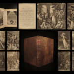 1810 Life of Jesus Christ Fleetwood Bible ART Miracles Jewish Jerusalem
