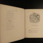 1868 Sleeping Beauty Fairy Tales Richard Doyle Art Folklore Witches Mythology