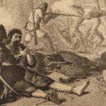 1876 Adventures of Robinson Crusoe Defoe Voyages Shipwreck English Cassell ART