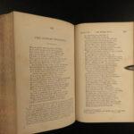 1869 Geoffrey CHAUCER Canterbury Tales & Pilgrims Tyrwhitt Medieval English Lit