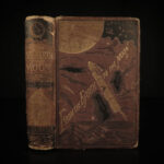 1874 1st ed Jules Verne From the Earth to the Moon Astronauts Space Gun Club