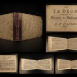 1840 HANDEL Dettingen Te Deum Classical Music Austrian Succession WAR