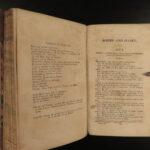 1854 Shakespeare Macbeth Taming of Shrew Hamlet Romeo & Juliet 6v SET