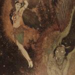 1913 1ed Princess Badoura Arabian Nights Dulac ART Illustrated Aladdin Housman