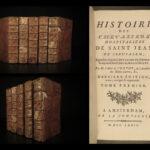 1772 Crusades History Knights Templar Hospitaller Saint John Malta Rhodes Vertot