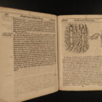 1656 Gervase Markham Farewell to Husbandry Agriculture FARMING Garden Rice Wheat