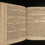 1740 Rituale Salisburgense Salzburg EXORCISM Rites & Rituals Demon Possession