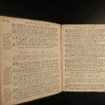 1728 Huguenot BIBLE Psalms of David Beza & Clement Marot French Music Chant