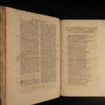 1648 RARE Lanfranc 11th c. Archbishop of Canterbury Metaphysics Philosophy FOLIO