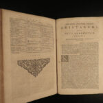 1695 Vossius on Barbarian Language & Grammar Glossary Vocabulary Dictionary RARE
