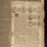 1632 John Speed History of Great Britain England Romans Norman Invasion Coins