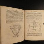 1592 Greek Hero of Alexandria Spiritali MECHANICS Science Pneumatics Mathematics