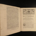 1740 Life of Thomas Aquinas by Touron French Philosophy Summa Theologica