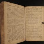 1777 Holy War by John Bunyan Puritan Spiritual Warfare Angels Demons RARE