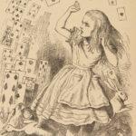 1876 Alice in Wonderland Lewis Carroll Tenniel Illustrated Fantasy Classic