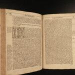 1632 Anglican Richard Hooker Laws Ecclesiastical Polity Church of England RARE