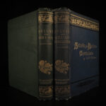 1889 1ed Sylvie & Bruno + Concluded Lewis Carroll Illustrated Fantasy Humor 2v