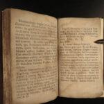 1697 Aesop Fables CLASSIC Folklore Mythology Latin Fabulae Greek Bracius London