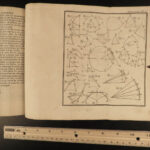 1764 ASTRONOMY Caille Lessons Geometry Mathematics Physics Illustrated RARE