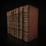 1688 Bibliotheque Universelle Aquinas Francis Bacon Charlemagne St Augustine 8v