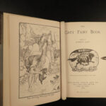 1900 1ed Grey FAIRY Book Andrew Lang Grimm Perrault Goblins Serbia Illustrated