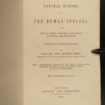 1851 Anthropology 1ed History of Humans Primitive Culture AFRICA China India Japan