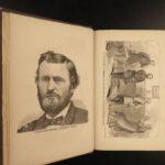 1865 1ed Ulysses S Grant Life & Civil War Campaigns Vicksburg Union Rob. E Lee